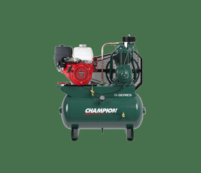 Engine Driven Reciprocating Air Compressor