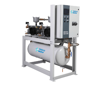 Lubricated Rotary Vane Vacuum Pump